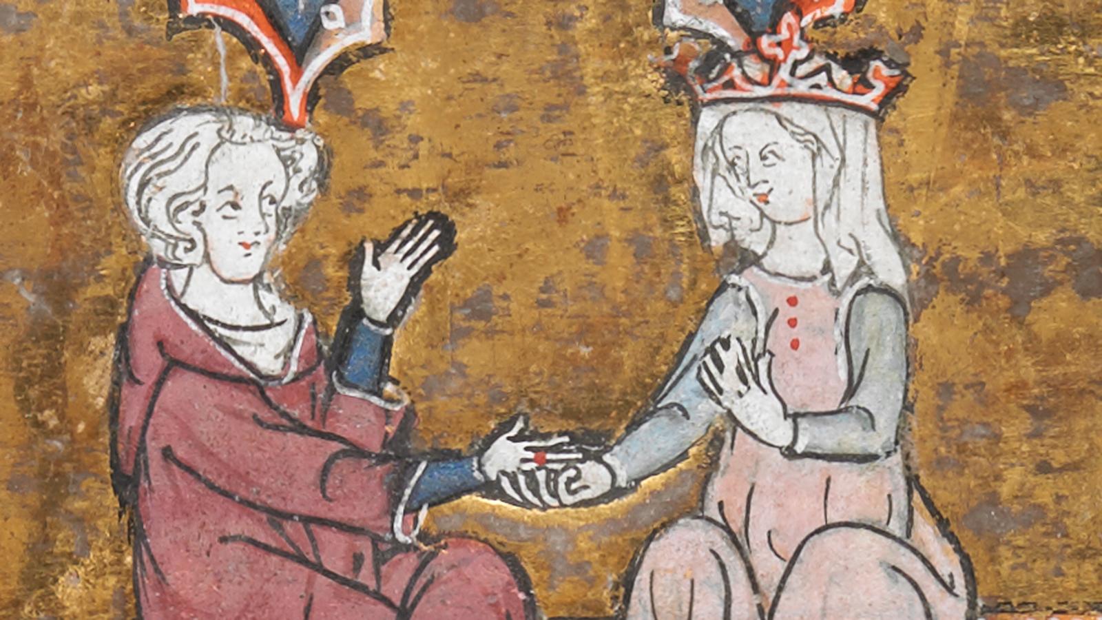 Paní a rytíř